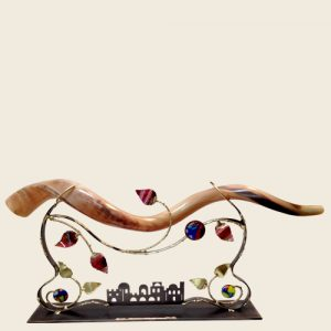 SH8 - Large Tabletop Shofar Holder