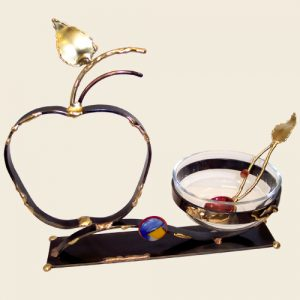 HD4 - Large Apple Honey Dish